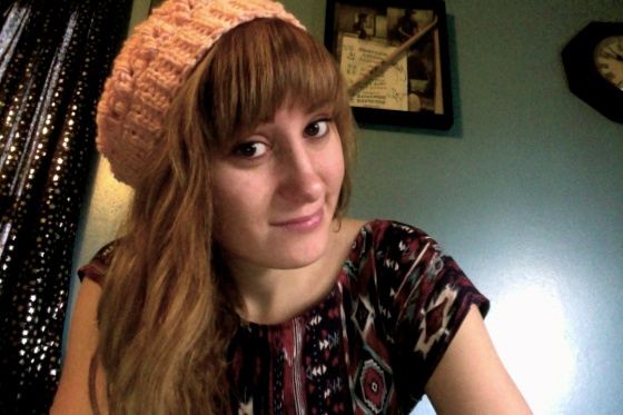 Oh, and I made a hat!