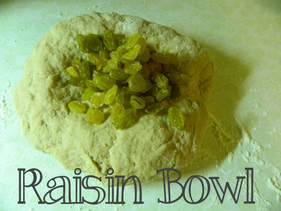raisin bowl