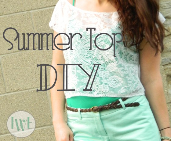 Summer Top DIY