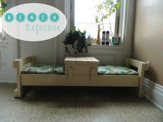 bench refashion