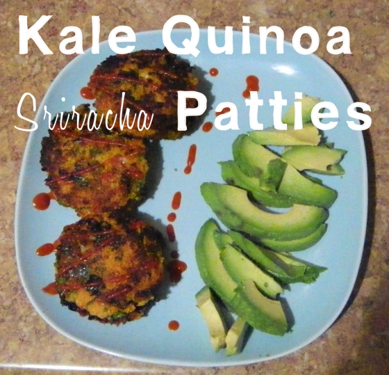 Kale Quinoa Sriracha Patties