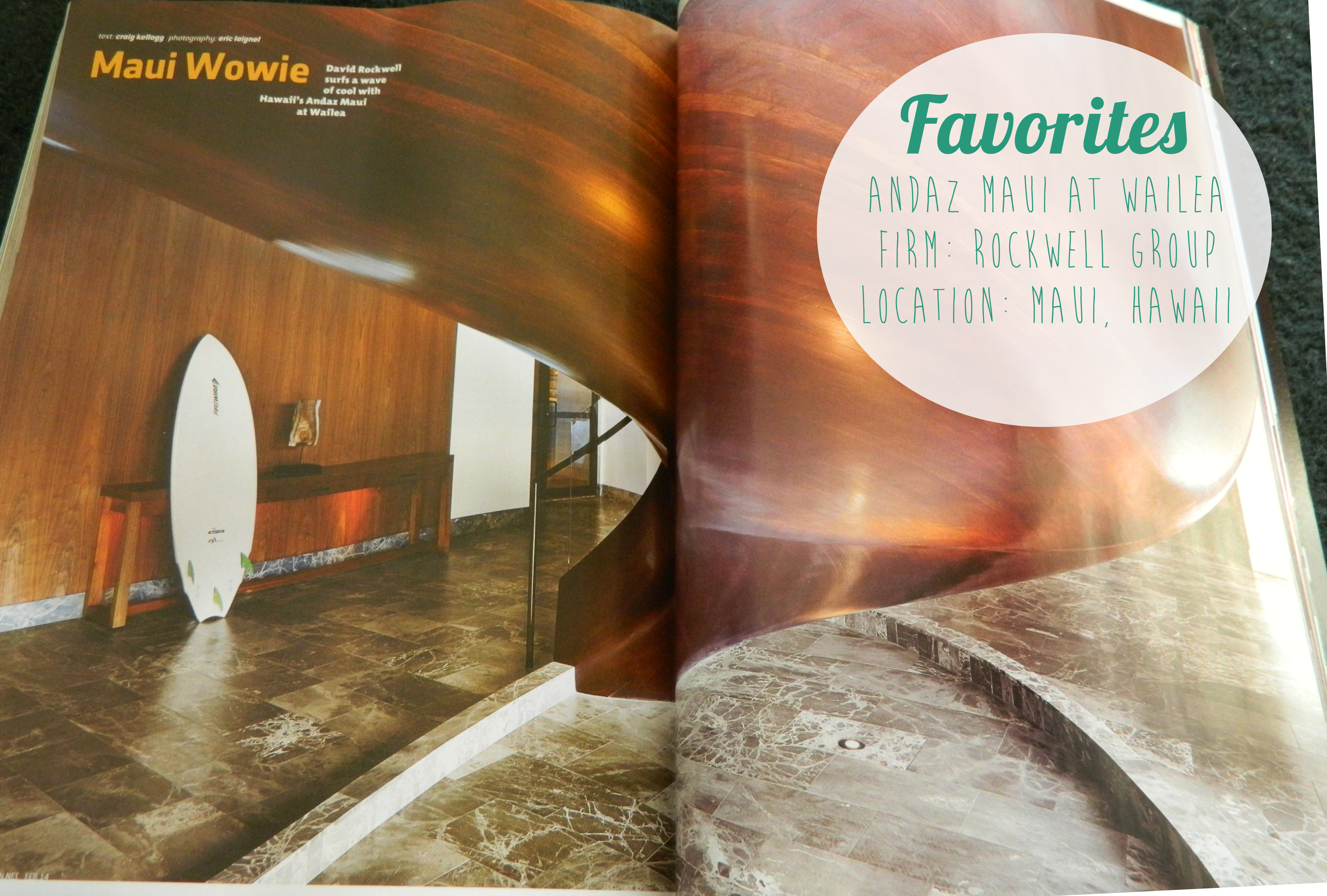 Alrighty My Final Favorite Pick For This Issue Is The Andaz Maui Resort In Hawaii By Rockwell Group I Cant Get Enough Of Staircase