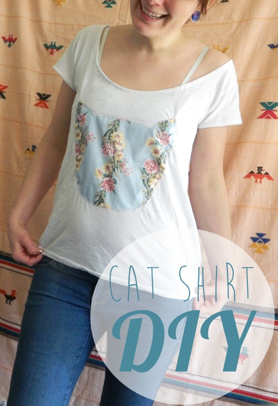 Cat shirt diy