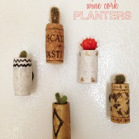 Mini Magnetic Wine Cork Planters