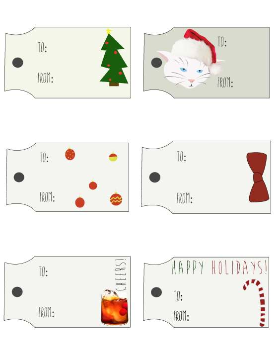 Holiday Tags